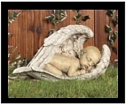 Sleeping Angel Baby Statue and Gift