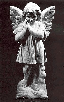 "12""H Adoration Angel with Hands Clasped"