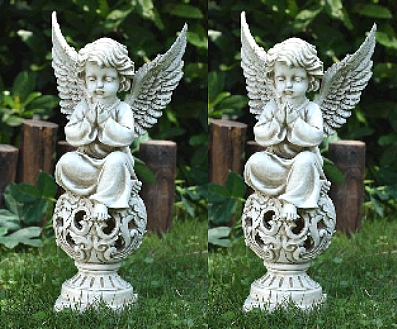 Set of Garden Praying Angels