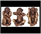 See No Evil, Hear No Evil and Speak No Evil Monkey Set