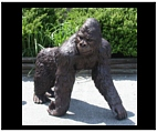 Knuckle Walking Gorilla Sculpture