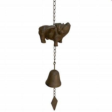 Happy Pig Bell and Windchime