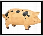 Mr. Pig The Piggy Bank in Country Finish