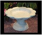 Concrete Bird Bath I
