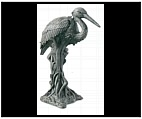 Great Heron Statue