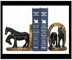 Horse Shoe Bookends