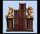 Reading Cherub Bookends