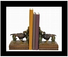 Standing Pheasant Bookends II