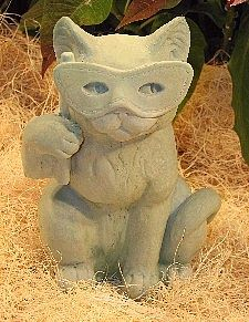 Party Cat Statue