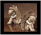 Sleeping Cherub Figurines