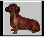 Red Dachshund