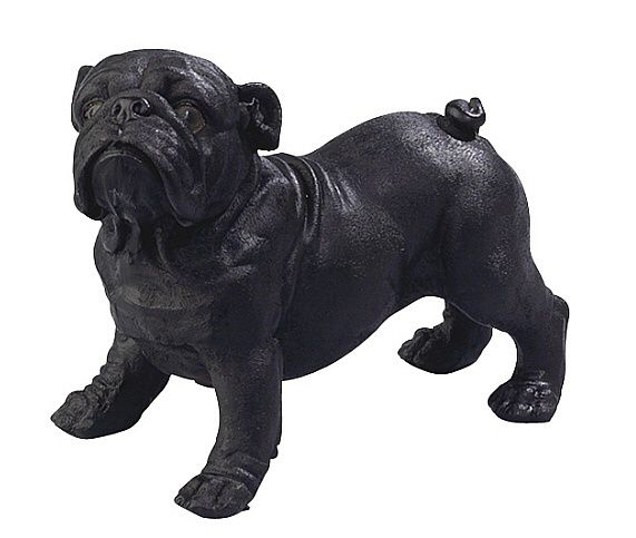 Playful Bulldog Statue