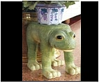 Frog Plant Stand