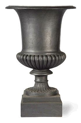Large Roman Urn Planter without Handles