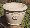 Goldfish Decor Pot, concrete garden pots, fish pond pots, small planters