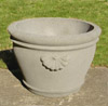 Small Patio Planters, Concrete planters, Courtyard planters