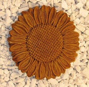 Sunflower Stepping Stone