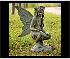 Large Garden Fairy Girl Statue