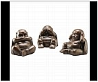 See No Evil, Hear No Evil, Speak No Evil Buddhas