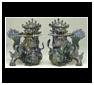 Foo Dog and Fu Lion Sculptures and Statues