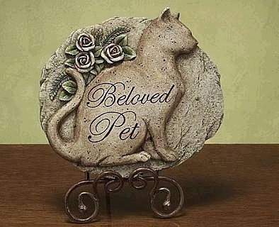 Cat Plaque and Cat Memorial Gift