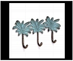Tropical Palm Key Holder