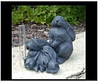 Bunny Rabbit Rain Gauge