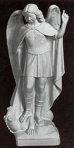 Saint Michael the Archangel - Marble