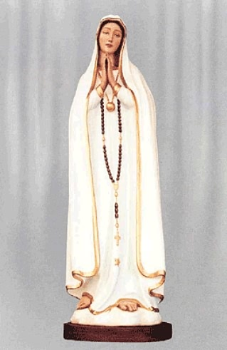 Our Lady of the Rosary, also known as Our Lady of Fatima