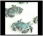 Little Crab Sculptures