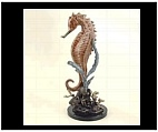 Spiny Seahorse Statue