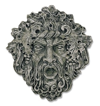 Large Bacchus, Roman God of Wine Plaque