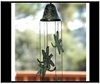 Dragonfly Windchime - Brass