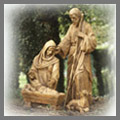 Explore our religious statues catalog for Christian and Catholic statues including saint statues like Saint Joseph, Saint Francis of Assisi, St. Paul, Saint Rita and holy family statues including nativity sets for the home and garden. Also visit for Virgin Mary statuary and other Mary statues like Our Lady of Guadalupe, Blessed Mother, Our Lady of Grace and more. Also explore religious and communion gifts like Saint Michael statues, doves, Catholic plaques and more for the home and garden.