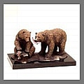 Explore animal statues and sculptures such as bears, alligators, deers, monkeys, fox, moose and turtles for the garden.