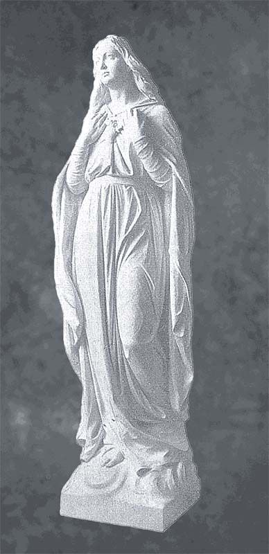 Immaculate Heart of Mary with Both Hands