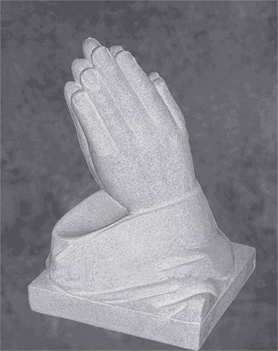 Praying Hands Monument Sculpture