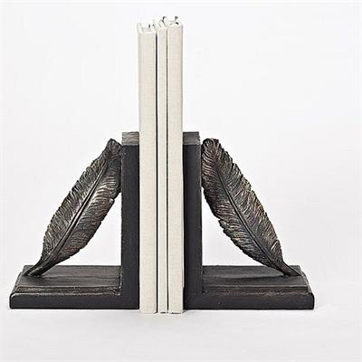 Feather Bookends