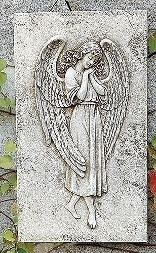 Praying Angel Wall Plaque