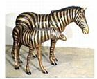 Plains Zebra Statues