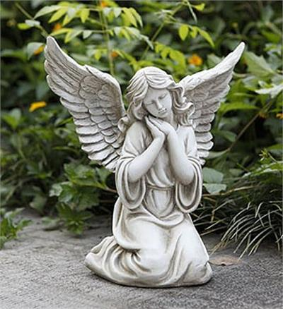 Sweet Angel in Prayer Sculpture