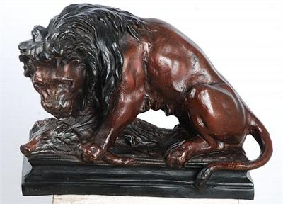 Prey of the Lion Sculpture