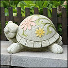 Large Happy Turtle Statues