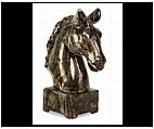 Small Horse Head Finial