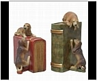 Peeping Puppy Dog Bookends