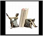 Ballerina Girls Bookends