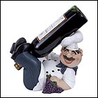 Happy Chef Wine Bottle Holder