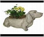 Dachshund Dog Planter