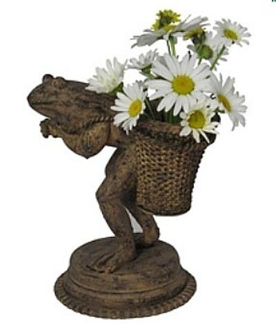 Walking Frog Planter Set of 2