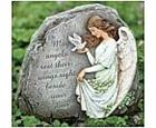 Irish Angel Garden Stone